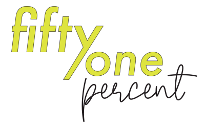 Fifty one percent rebrand